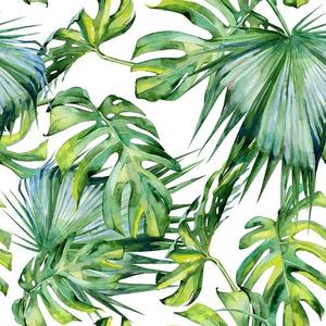 Skleněný panel 60/60 Jungle White Esg obraz