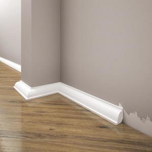 Podlahová lišta Elegance LPC-01-101 bílá mat obraz