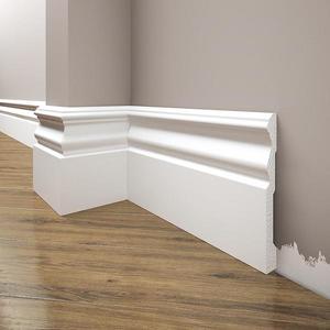 Podlahová lišta Elegance LPC-09-T101 bílá satén obraz