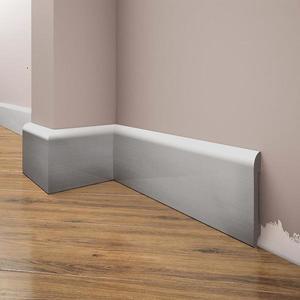 Podlahová lišta Elegance LPC-11-148 stříbrný kartáčovaný obraz