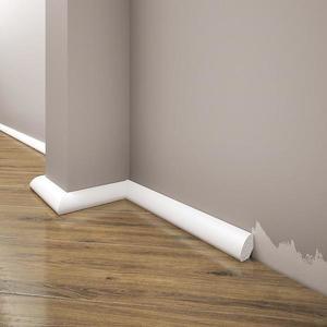 Podlahová lišta Elegance LPC-12-101 bílá mat obraz