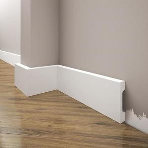 Podlahová lišta Elegance LPC-23-T101 bílá satén obraz