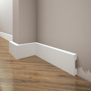 Podlahová lišta Elegance LPC-27-T101 bílá satén obraz