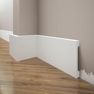 Podlahová lišta Elegance LPC-29-T101 bílá satén obraz