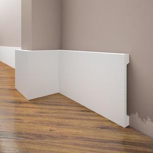 Podlahová lišta Elegance LPC-31-T101 bílá satén obraz