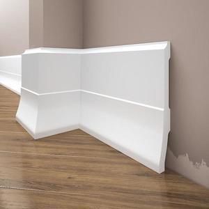 Podlahová lišta Elegance LPC-35-101 bílá mat obraz