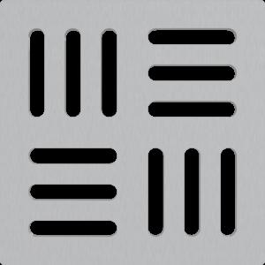 Alcaplast Mřížka pro nerezové vpusti 102×102 mm nerez MPV011 obraz