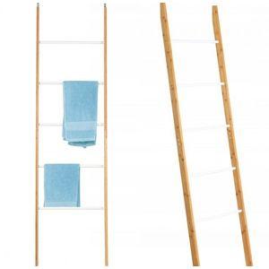 Tutumi Bambusový žebřík - bílá obraz