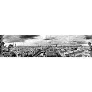 Skleněný panel 60/240 City-1 4-Elem obraz