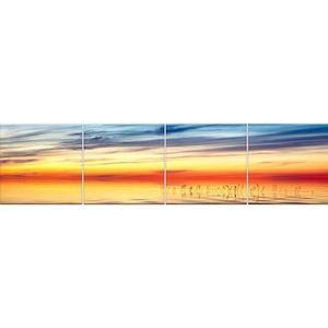 Skleněný panel 60/240 Lake-2 4-Elem obraz