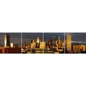 Skleněný panel 60/240 City-3 4-Elem obraz