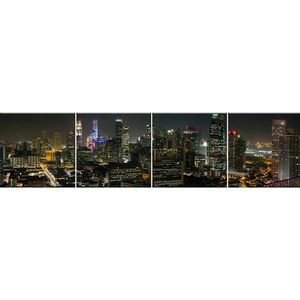 Skleněný panel 60/240 City-4 4-Elem obraz