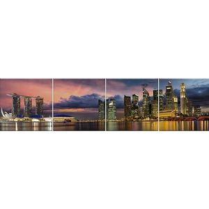 Skleněný panel 60/240 City-5 4-Elem obraz