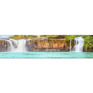 Skleněný panel 60/240 Waterfall-2 4-Elem obraz