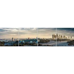 Skleněný panel 60/240 City-6 4-Elem obraz