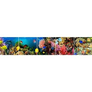 Skleněný panel 60/300 Aquarium-1 5-Elem obraz