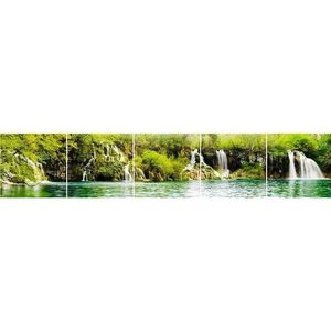 Skleněný panel 60/300 Waterfall-3 5-Elem obraz
