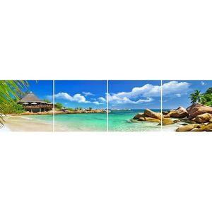 Skleněný panel 60/240 Tropic-1 4-Elem obraz