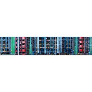 Skleněný panel 60/300 Factory 5-Elem obraz