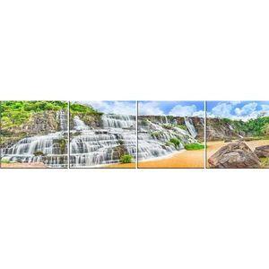 Skleněný panel 60/240 Waterfall-4 4-Elem obraz