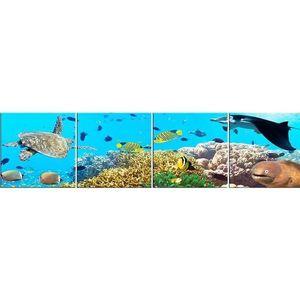 Skleněný panel 60/240 Aquarium-2 4-Elem obraz