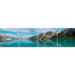 Skleněný panel 60/240 Mountains-2 4-Elem obraz
