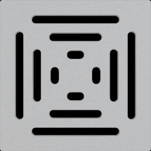 Alcaplast Mřížka pro nerezové vpusti 102×102 mm nerez MPV012 obraz