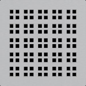 Alcaplast Mřížka pro nerezové vpusti 102×102 mm nerez MPV015 obraz
