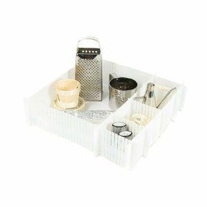 Compactor Organizér do zásuvky Free, bílá obraz