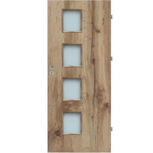 Interiérové dveře Kwadro 4*4 80P dub wotan 385 obraz
