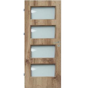 Interiérové dveře Eliza 4*4 60L dub wotan 385 obraz