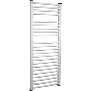 Koupelnovy radiátor OVAL 500/700 bílý obraz