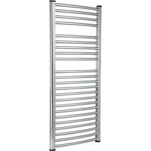 Koupelnovy radiátor OVAL 500/1100 chrom obraz