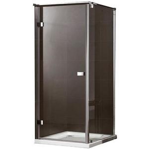 Sprchový kout Maja 100X100X190 čiré sklo - chrom obraz