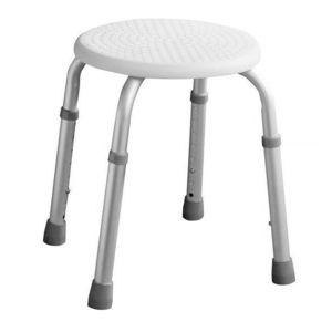 RIDDER Sedátko koupelnové, průměr 32cm, bílá A00603101 obraz