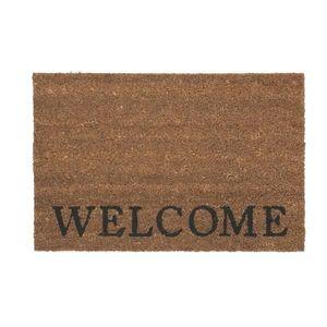 Dveřní Rohožka Welcome, 40/60cm, Přírodní obraz