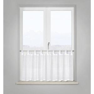 Záclona Krátká Fiona, 50/140 Cm, Bílá obraz