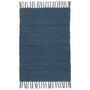 Hadrový Koberec Julia 2, 70/130cm, Tm. Modrá obraz