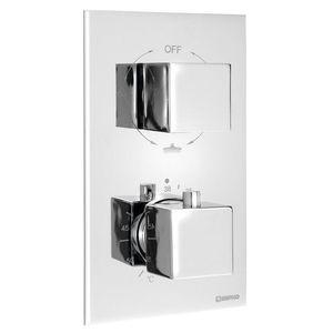 SAPHO LATUS podomítková sprchová termostatická baterie, box, 3 výstupy, chrom 1102-63 obraz