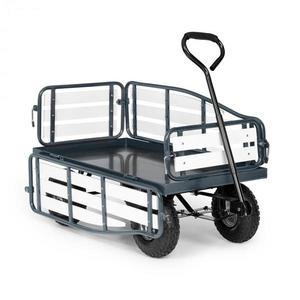 Waldbeck Ventura, ruční vozík, maximální zátěž 300 kg, ocel, WPC, černý obraz