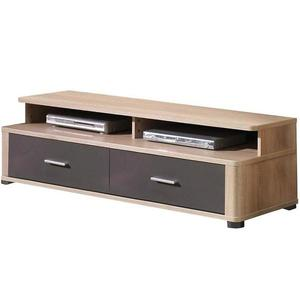 TV stolek Fill 153 cm, dub sonoma / grafit obraz