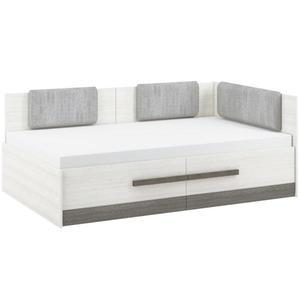 Postel Blanco 130 cm, borovice sněžná / new grey obraz