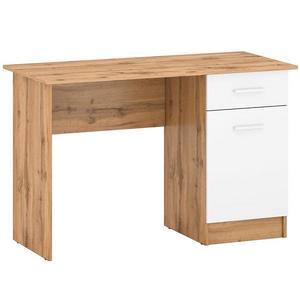 Psací Stůl Stil 2 120cm Dub Wotan/Bílý obraz