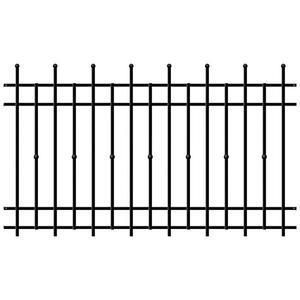 Kovové ploty obraz