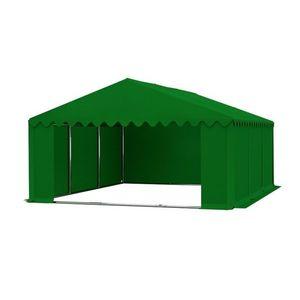 Skladový stan 5x6m zelená PREMIUM obraz