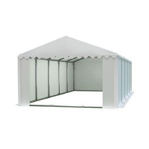 Skladový stan 6x10m bílá PROFI obraz