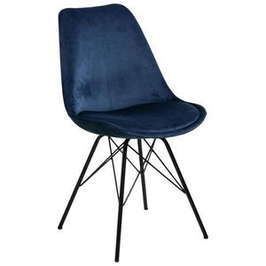 Jídelní Židle Eris Tmavě Modrá obraz