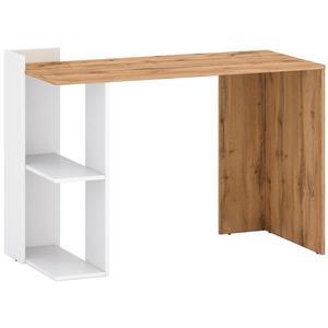 Psací Stůl Stil 1 122cm Dub Wotan/Bílý obraz