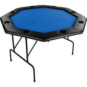 Tuin Pokerový skládací stůl modrý obraz