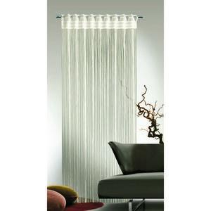 Albani Provázková záclona Cord krémová, 90 x 245 cm obraz
